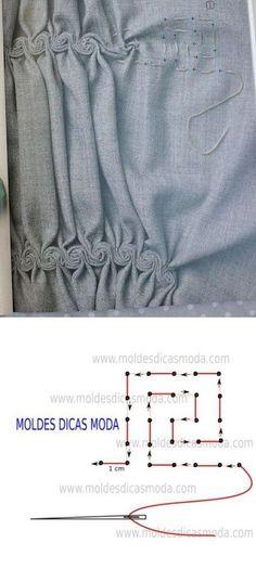 Ideas Creative Art Fashion Fabric Manipulation For 2019 Fashion Sewing, Fashion Fabric, Diy Fashion, Origami Fashion, Fashion Ideas, Fashion Details, Woman Fashion, Fashion Clothes, Sewing Hacks