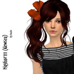 May111 (Newsea) hair retexture at Dachs Sims via Sims 4 Updates
