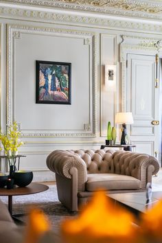 George V Apartment by Gérard Faivre