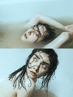 by Ines Rehberger Art Reference Poses, Photo Reference, Reference Photos For Artists, Creative Photography, Photography Poses, Milk Bath Photography, Artistic Photography, Human Body Photography, Themed Photography
