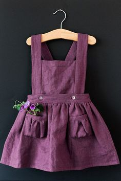 Items similar to Ayla Toddler Pinafore Dress - Vintage Girls Dress- on Etsy Ayla Toddler Skirt by blytheandreese on Etsy Record of Knitting String spinning, weaving and sewing careers such as BC. Toddler Skirt, Toddler Outfits, Kids Outfits, Toddler Girl Dresses, Toddler Clothes Diy, Children Clothes, Toddler Girls, Baby Girls, Vintage Girls Dresses