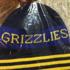 Rare NBA Memphis Grizzlies 901 Nine Oh One Toboggan Skull Cap Hat NIB   MemphisGrizzlies 8d0031a38e75