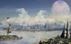 futuristic sky - Google Search
