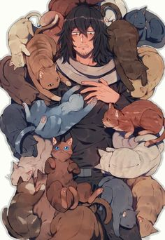 Our goal is to keep old friends, ex-classmates, neighbors and colleagues in touch. My Hero Academia, Hero Academia Characters, Anime Characters, Fictional Characters, Anime Guys, Manga Anime, Shouta Aizawa, Sad Comics, Howls Moving Castle