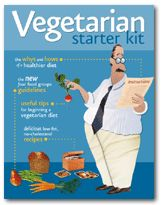 PCRM | Vegetarian Starter Kit...You get up to 50 pieces of literature that will help you and your children start transitioning to a plant based diet...simple info, sample menus, healthy inspiration.  Lose weight without starving!