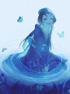 Friend Anime, Mermaid Drawings, Identity Art, Jojo Bizzare Adventure, Anime Characters, Fictional Characters, How To Train Your Dragon, Geisha, Cute Art