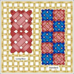 The Rice Stitch-board has other stitches