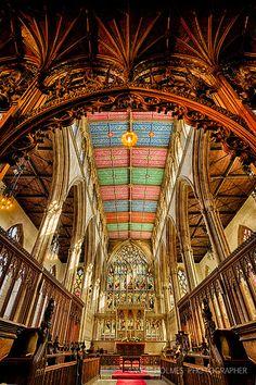 Hull's majestic Holy Trinity Church, England's largest parish church. Photo by Neil Holmes.