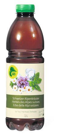 Migros Bio Ice Tea Schweizer Alpenkräuter