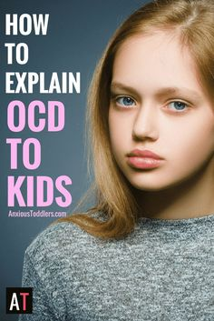 Your child has been told they have OCD, but do they really know what that means? Here is a simple way to explain it…