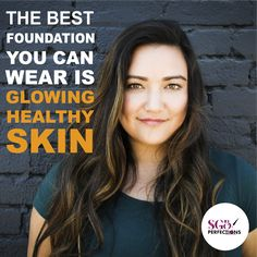 The Best foundation you can wear is glowing healthy skin. Click the link in our bio to find out more about us and our Vitamin C product line. Natural Glow, Natural Skin Care, Vitamin C Serum Benefits, Now Vitamins, Health And Wellness, Health And Beauty, Natural Moisturizer, Best Foundation, Facial Serum