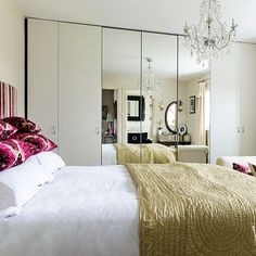 Traditional white wardrobe | 10 ways wardrobes can totally transform a bedroom | housetohome.co.uk