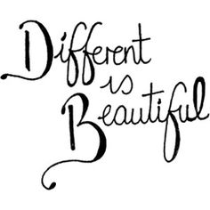 be you, even if it means being different. <3