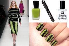 DIY Nail Art: Fashion Inspired Nails