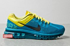 Nike Air Max 2013 | Tropical Teal & Sonic Yellow
