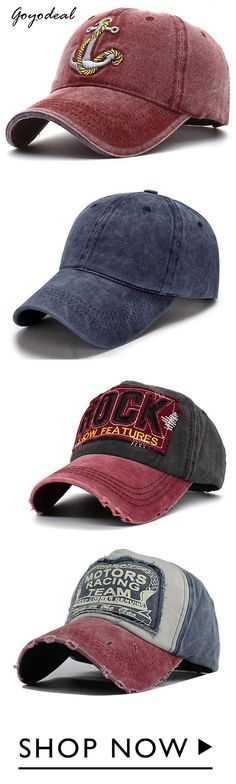 ff125183a61923 800+ bought, Mens Washed Denim Anchor Embroidered Pattern Sunshade Baseball  Cap