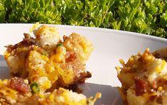 Cheesy Bacon Ranch Muffins/Kelli's Retro Kitchen Arts