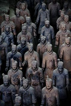 The Terra Cotta Warrior complex outside of Xian, China