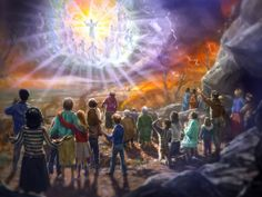 Luke and Mark seem to indicate Jesus' second coming will be in the clouds. Jesus will return physically. Lds Memes, Lds Quotes, Jesus Second Coming, Jesus Return, Jesus Pictures, Religious Pictures, Bible Pictures, Jesus Pics, Like Facebook