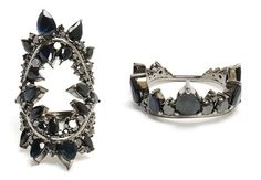 Sometimes you don't want to look too precious, even when you want to wear precious jewels. The solution? Fernando Jorge!