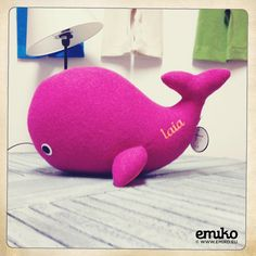 Personalized Whale for Laia