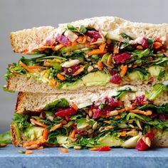 Chopped Salad Sandwich w/ Beets Avocado and Hummus by Ingredients… Cooking Beets In Oven, Cooking A Roast, Cooking Salmon, Raw Food Recipes, Vegetarian Recipes, Cooking Recipes, Healthy Recipes, Hummus Sandwich, Sandwich Recipes