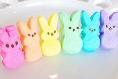 Rainbow Peeps!