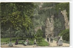 urbitrend-collectables - 1 carte postale France DEP 75 Paris District 19 Buttes Chaumont La Grotte,