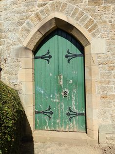 Corbridge chapel door