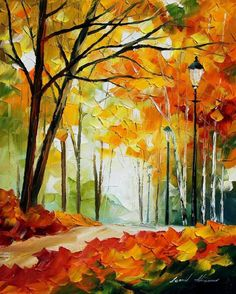 The Gold of Fall - - Afremov