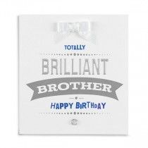A Brother Happy Birthday Card