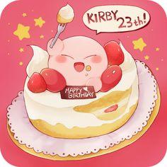 星のカービィ23周年おめでとうございます! - おさかなぐるみ