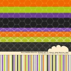 Digital paper for Halloween party