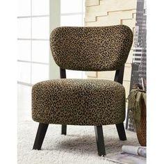 Shady Shores Leopard Print Chair