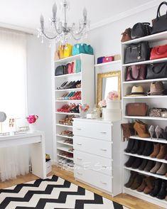 Vestidores low cost. Mi vestidor con estanterías billy y cómodas malm de Ikea.