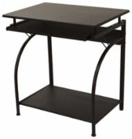 Comfort Products - Stanton Computer Desk - Black - Larger Front