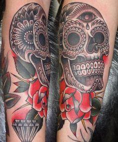 Sugar Skull Tattoo | Tattoos Photo Gallery
