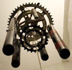 gears wind chimes