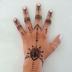 simple hand henna - Google Search