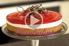 En ljuvlig moussetårta med härlig smak av svensk sommar.