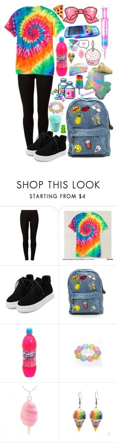 """Let's go for a walk down easy street"" by tanna-tries-to-style ❤ liked on Polyvore featuring Dorothy Perkins, WithChic, Zone and Cotton Candy"