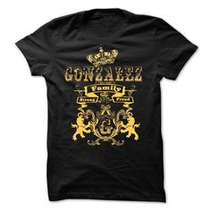 GONZALEZ Family Strong Proud  T Shirts, Hoodies, Sweatshirts - #cute t shirts #t shirt ideas. SIMILAR ITEMS => https://www.sunfrog.com/Names/GONZALEZ-Family-Strong-Proud-.html?60505