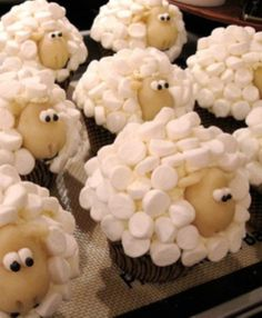 Being that I am a Lamb-ert.  I think I need to make these!  They are darling. :)