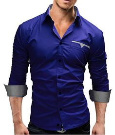 Cheap camisa hombre, Buy Quality chemise homme slim directly from China mens shirts casual Suppliers: 2017 Autumn New Fashion Camisa Brand Clothing Men Shirt Casual Long Sleeved Chemise Homme Slim Camisas Hombre Cheap Mens Shirts, Mens Shirts Online, Casual Wear For Men, Casual Shirts For Men, Look Formal, Stylish Mens Fashion, Fashionable Outfits, Trendy Outfits, Ideias Fashion