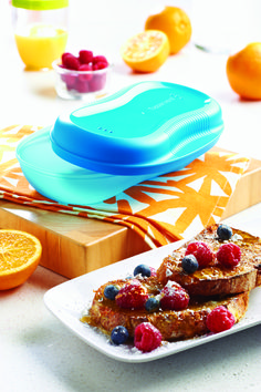 tupperwares breakfast maker (microwavable )