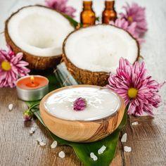 DIY-Rezept für selbst gemachte Kokosöl Körperpflege mit nur 3 Zutaten - schnell und einfach herzustellen ...