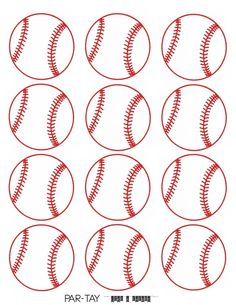 Baseball Tags Free Printable - Party Like a Cherry Baseball Treats, Baseball Gifts, Baseball Sister, Baseball Banner, Baseball Invitations, Bar Mitzvah Invitations, Wedding Invitations, Free Printable Gift Tags, Printable Party