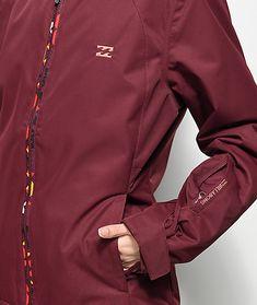 Billabong Terra Mystic Maroon 10K Snowboard Jacket