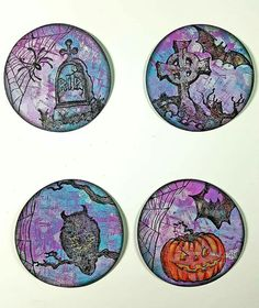This year let us celebrate Halloween Day with special way! Giveaway Halloween challenge coins with own design to others, special gifts. Best Friend Halloween Costumes, Women Halloween, Halloween Stuff, 3d Paper Projects, Paper Crafts, Art Trading Cards, Atc Cards, Challenge Coins, Mail Art