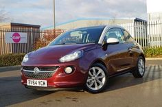 Used 2014 (64 reg) Purple Fiction / White Roof Vauxhall Adam 1.2i Glam 3dr for sale on RAC Cars